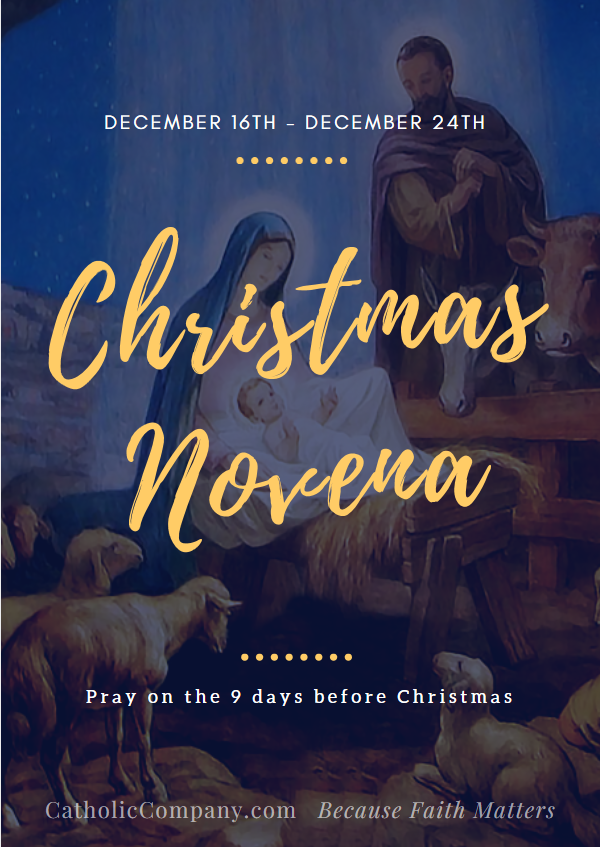 a christmas novena december 16 o shepherd that rulest israel thou that leadest joseph like a sheep come to guide and comfort us recite one our father - Christmas Novena