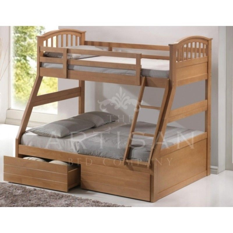 The Artisan Bed Company 3 Sleeper Bunk Bed Bedroom Ideas