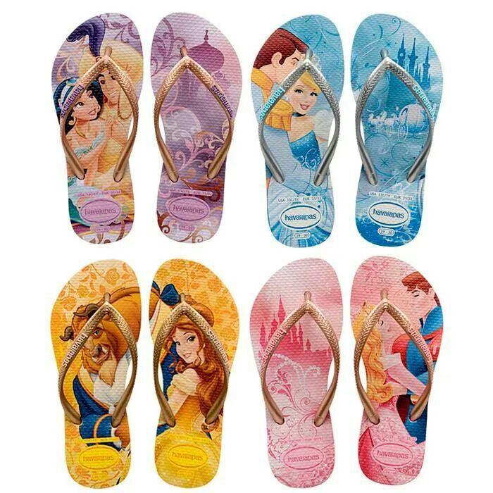 disney princess (havaianas) flip-flops  95fa2f4d4a