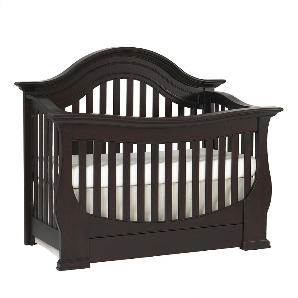 Baby Cache Monaco Lifetime Convertible Crib - Espresso - Baby Cache ...