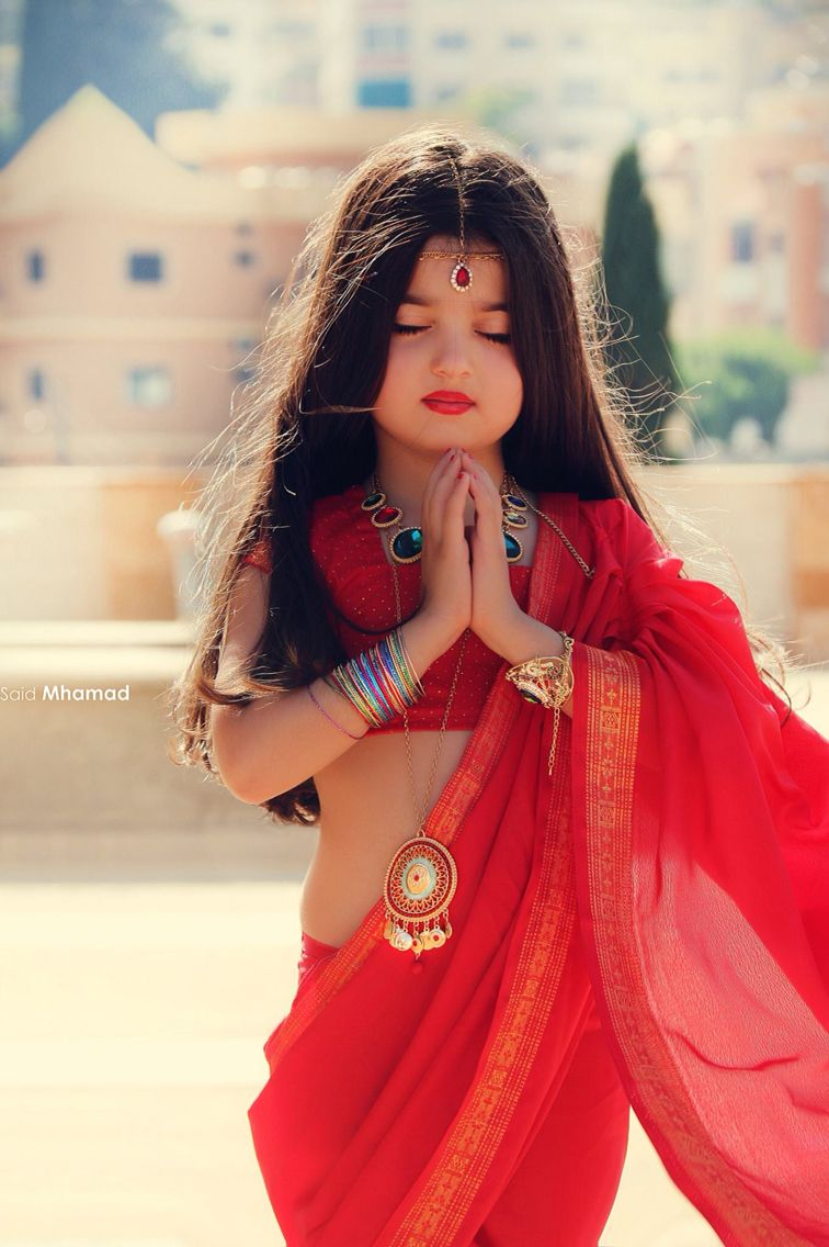 Cute Little Indian Girl Photo By Said Mohammed With Images