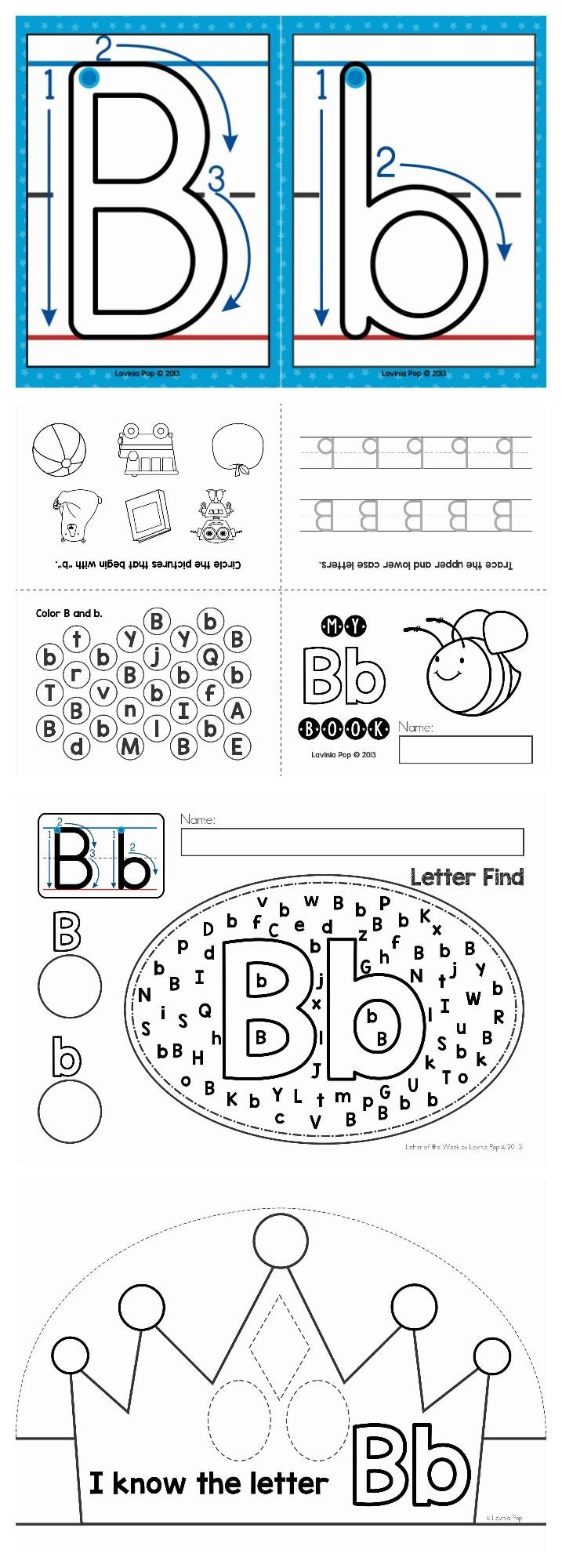 FREE Letter of the Week resource jam-packed with worksheets and activities.