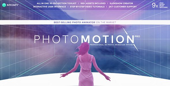 Photomotion 3d Photo Animation Toolkit 5 In 1 3d Photo Motion Selling Photos