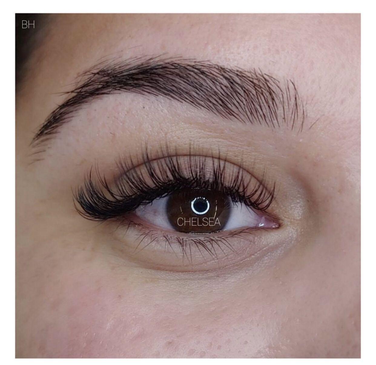 Custom Hybrid Lash Extensions | Bronzed Humanity | Eyelash ...