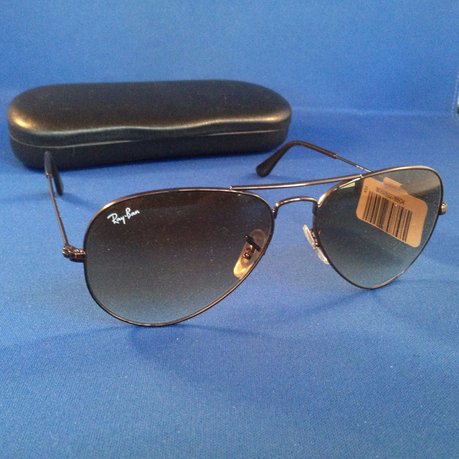 24480cdec8 Rayban Aviator RB3025 014 51 Small 55 14 2N Gold Frame Light Brown Gradient