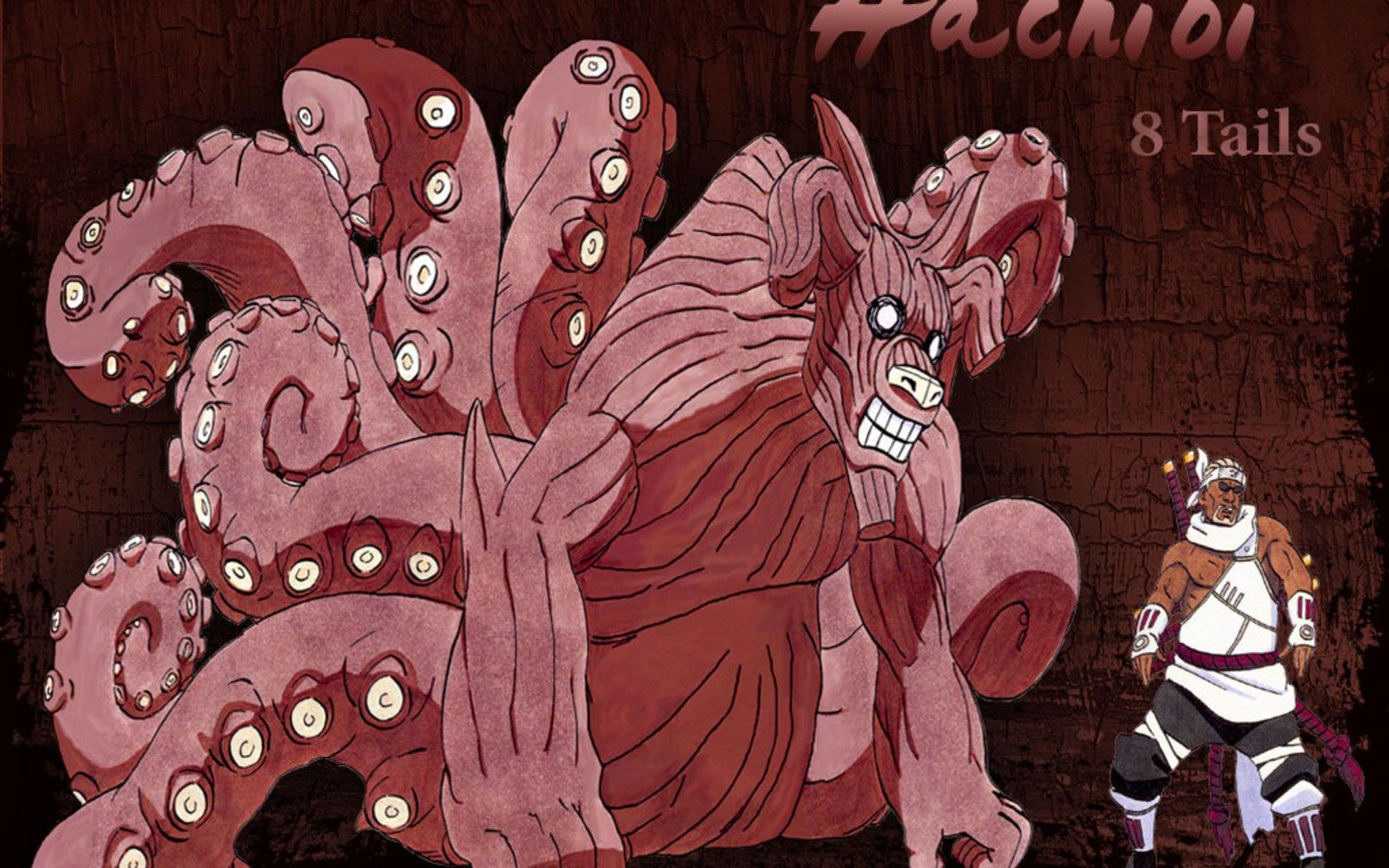 Naruto tailed beasts; The Eight Tails, Gyūki. It's most recent ...