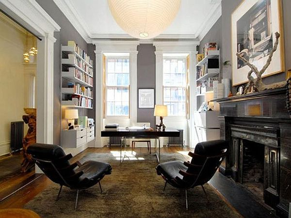 Sophisticated Home Study Design Ideas | Office designs, Study rooms ...