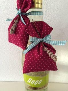 Anleitung Lavendelsäckchen Selber Nähen Basteln Pinterest