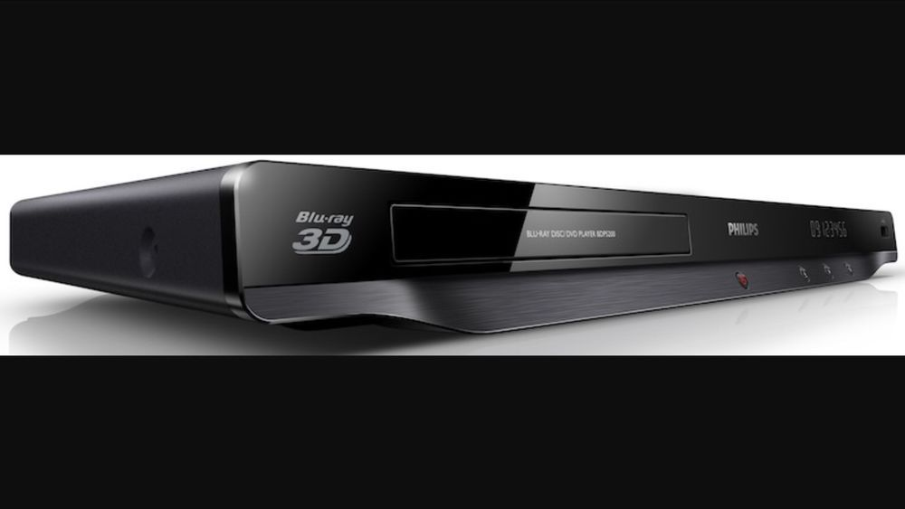 Philips Blu Ray Disc Player DVD Player 3D Wi Fi with