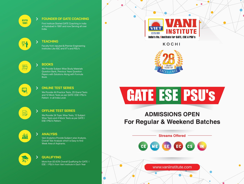 Best Psu 2020.Pin By Vani Institute Kochi On Gate Coaching Center In