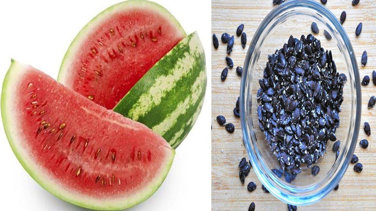 Ferva as sementes de melancia e depois tome,  os resultados vão deixá-lo...