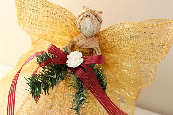Grapevine Angel. I eliminated the 'hearts' on the bottom ... |Grapevine Angel Tree Topper