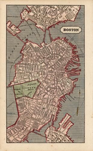 Pin By House Of Maw On Artistic Endeavor Boston Map Map Design Map
