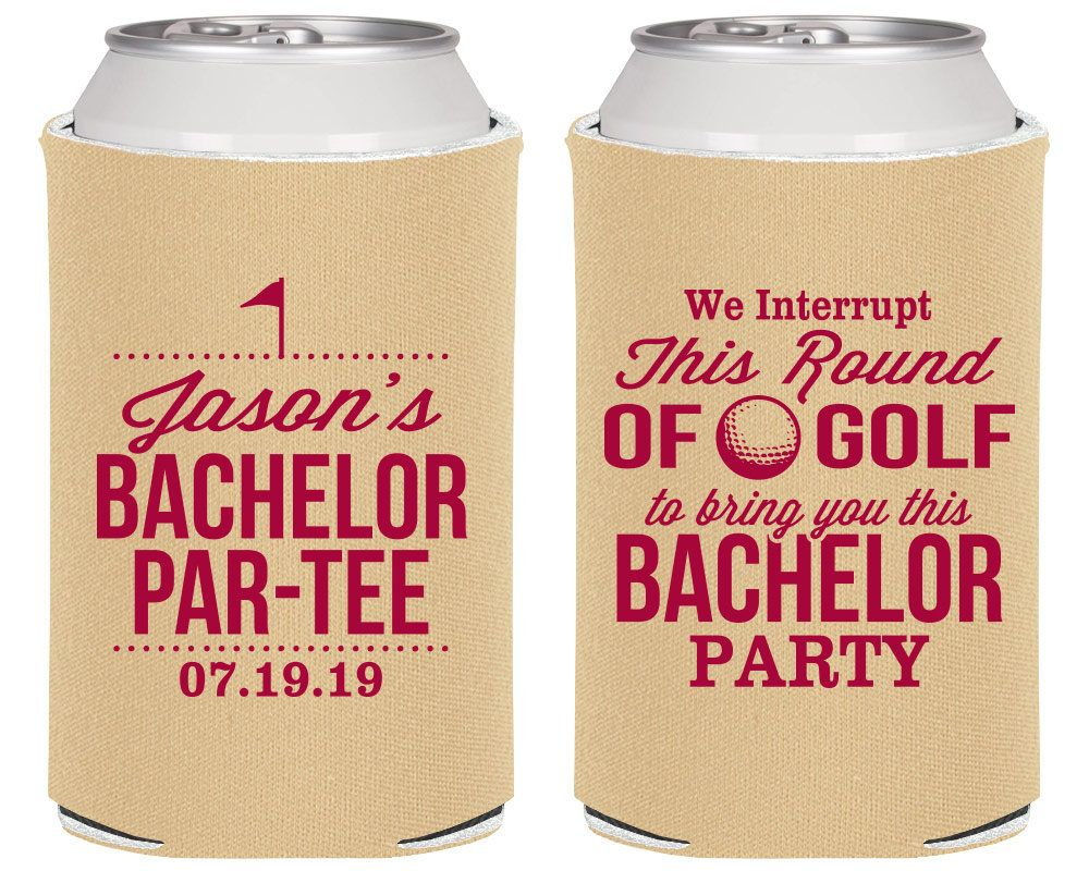 Bachelor partee personalized bachelor decor golf