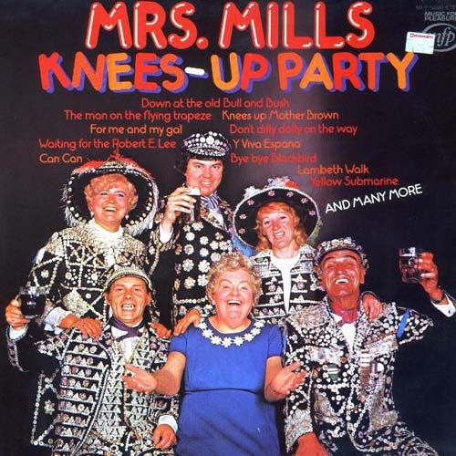 Nothing inspires people to party with their knees up more than Mrs. Mills' rollicking rendition of Yellow Submarine.