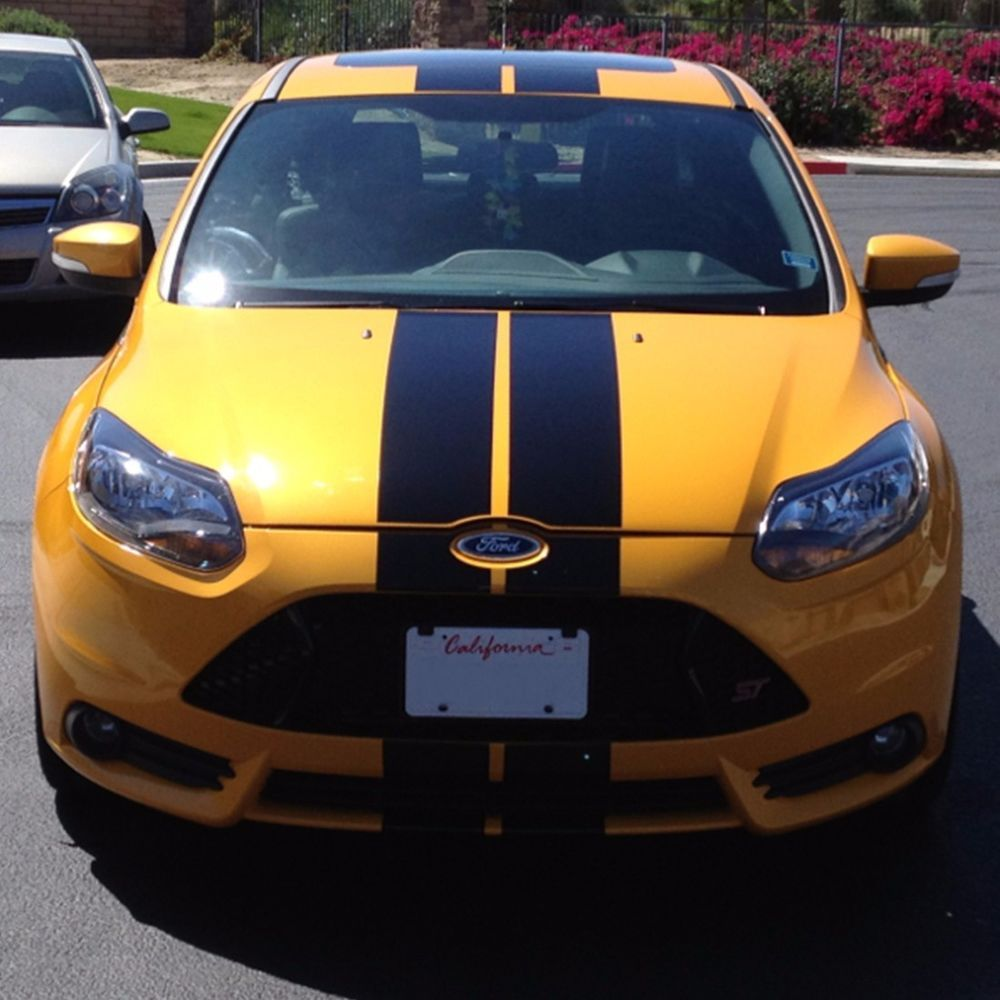 Stripe Body Kit Sticker Decal For Ford Focus St Front Tail Lamp Led Rocker Panel Ultimateprocy Carros Faixas