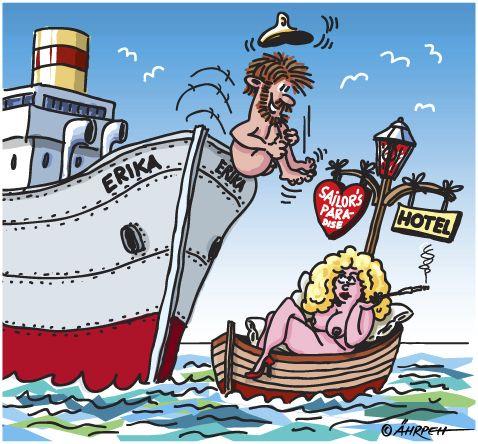 Cartoon Hotelschiff Medium By Rpeter Tagged Mannfrauliebe