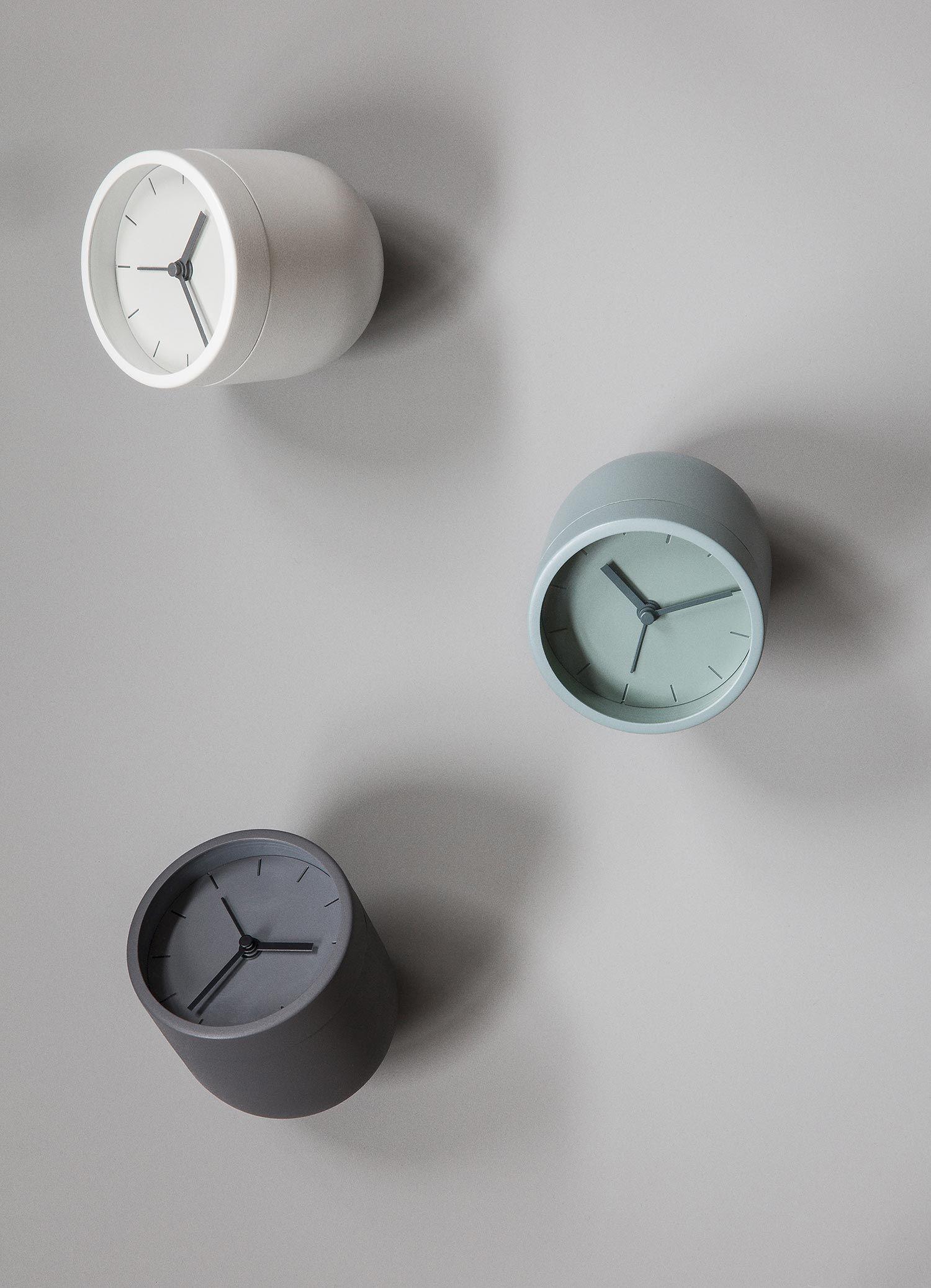 Tumbler Alarm Clock Gessato Alarm Clock Design Alarm Clock Clock Design