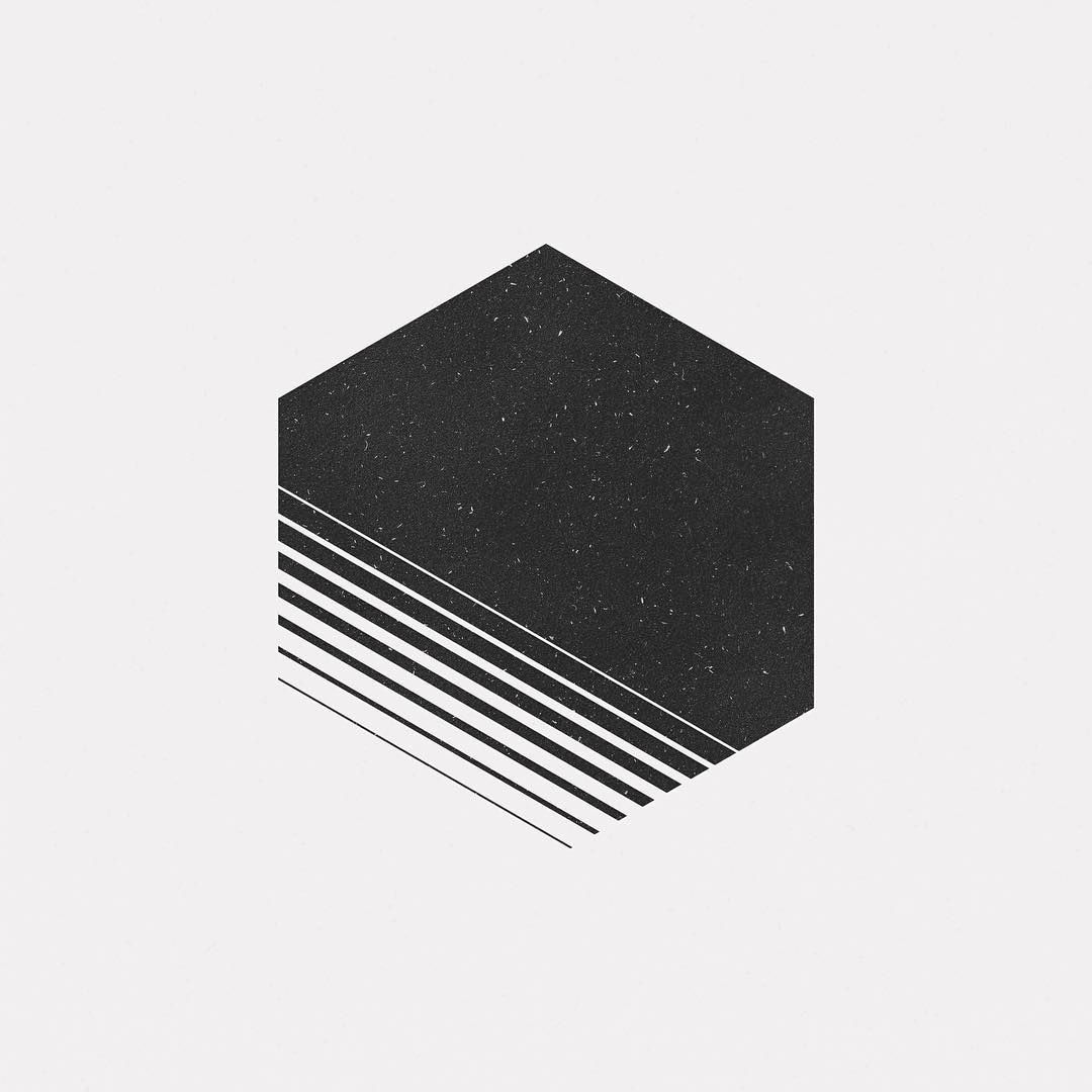 Ma16 519 a new geometric design every day dailyminimal for Art minimal facebook