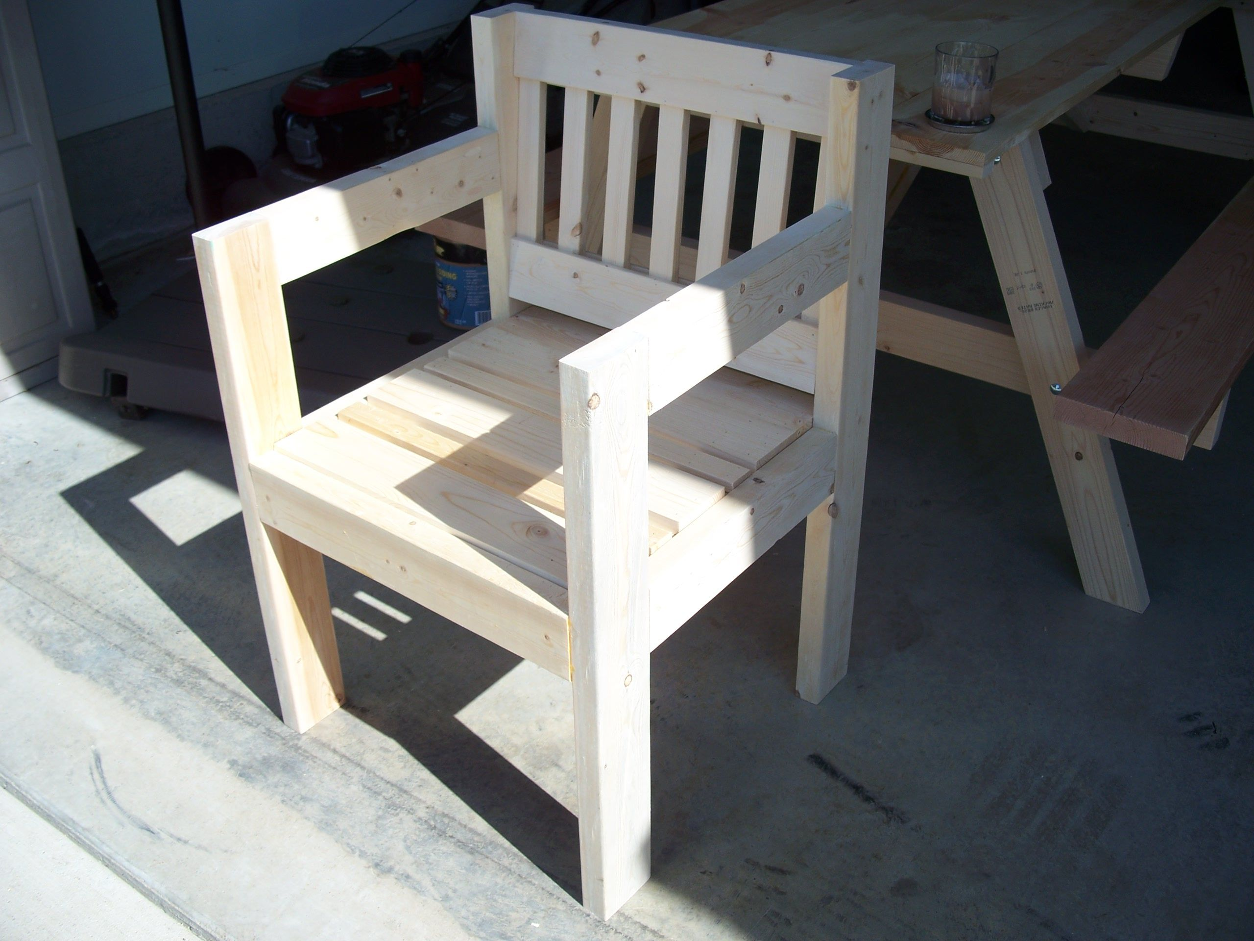 Chair With Scrap Wood Craft Ideas Pinterest Scrap Woods And Woodworking