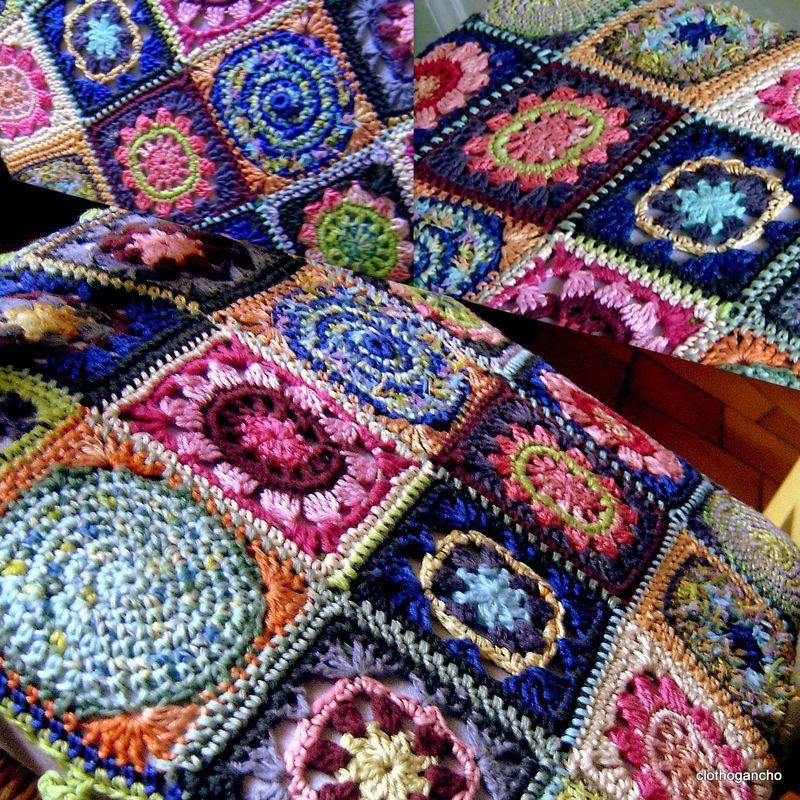 Gitaneries Gitanerias Clothogancho2 Dessus De Chaise Tutoriel Point De Croix Tricot Et Crochet