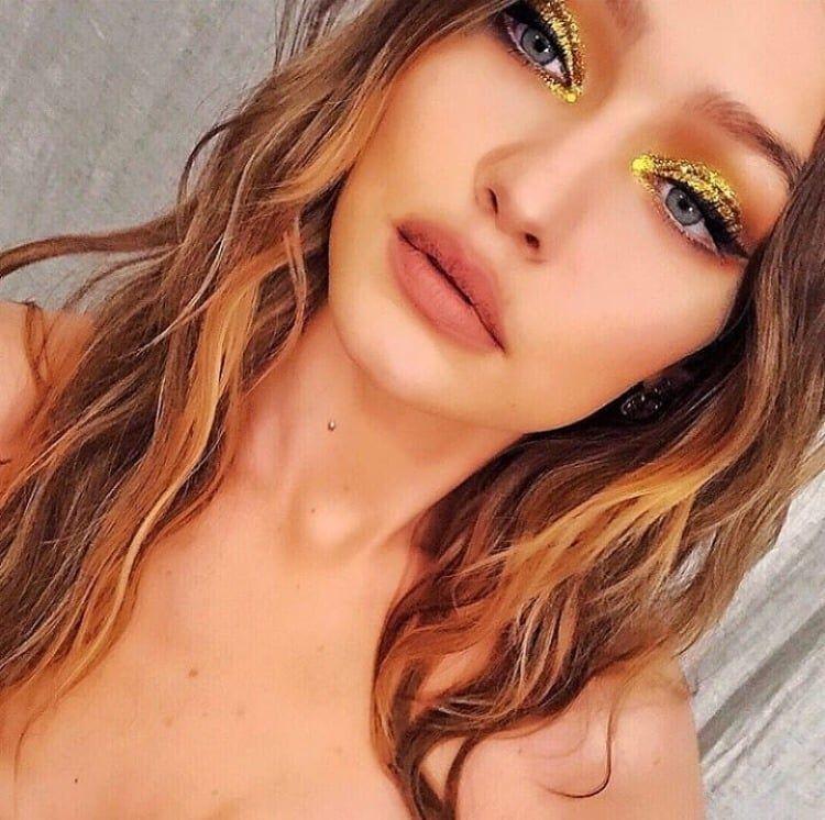 Gigi Hadid Maquillage Eyeliner Maquillage Fard à