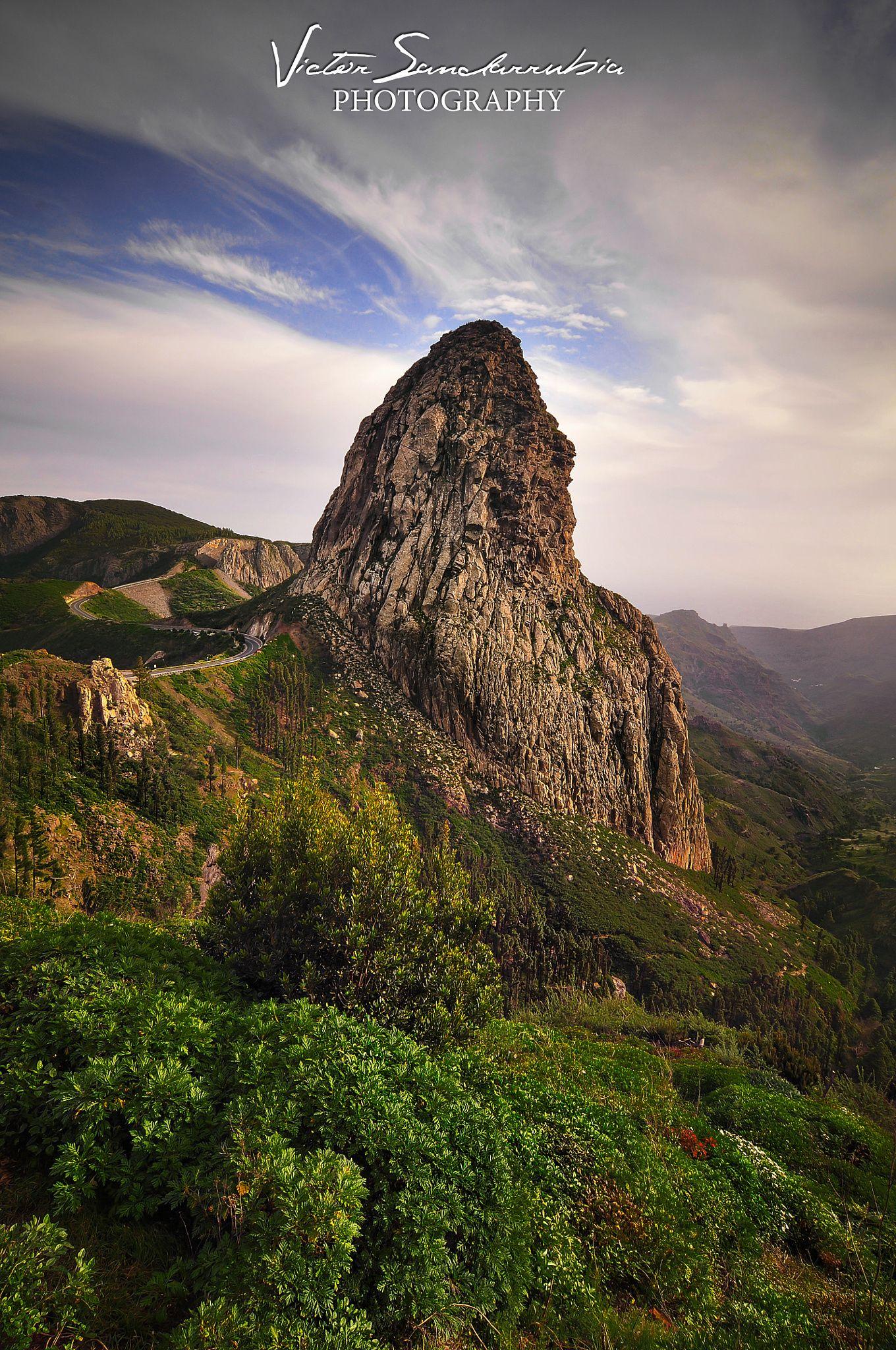 Roque Agando La Gomera The Roque De Agando Is A Python