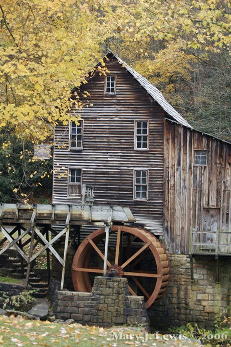 Grist Mill by Mary L. Lewis