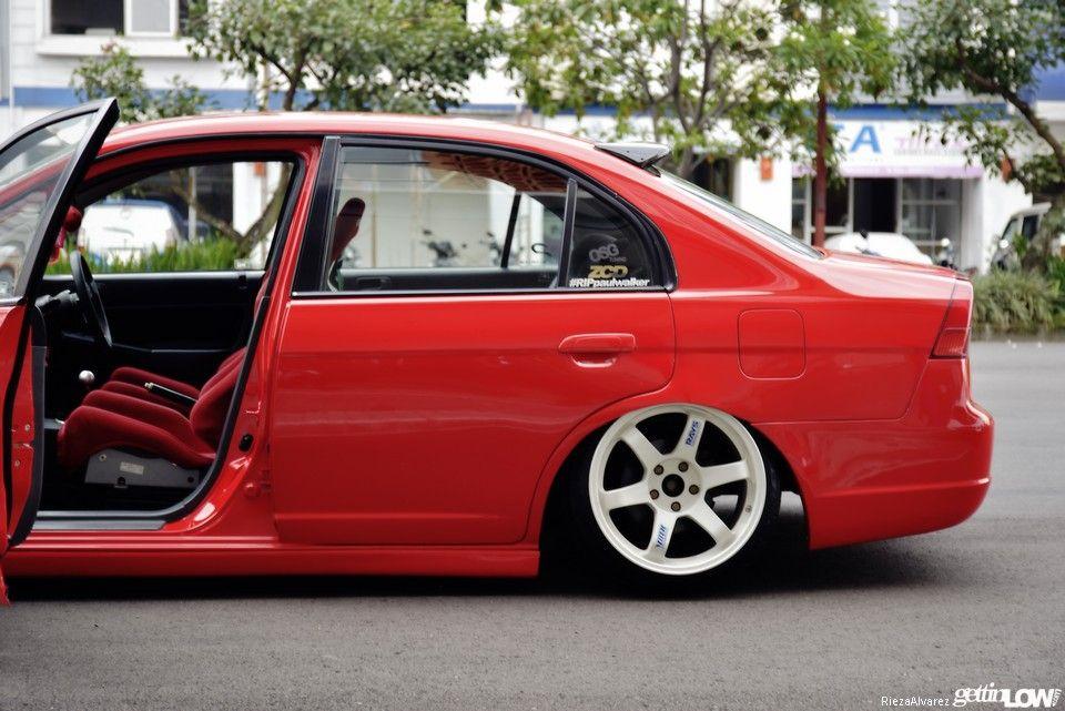 Honda ES2 tucked