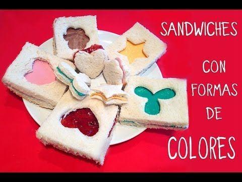Meriendas f ciles y rapidas para ni os sandwiches con - Manualidades para ninos faciles y rapidas ...
