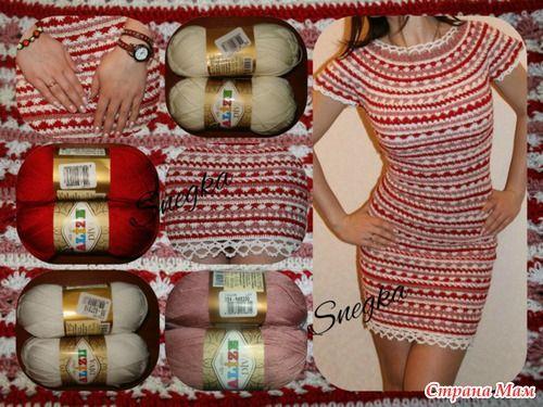 a7487ff2d16d Платье от Ванессы Монторо вяжем вместе! - Вяжем вместе он-лайн - Страна Мам