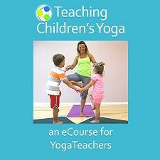 teaching children's yoga ecourse for yoga teachers