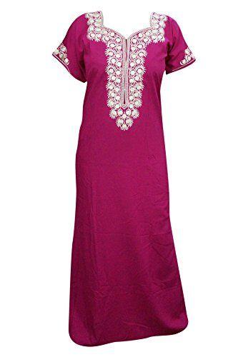 Mogul Interior Maxi Nightgown Cotton Neck Embroidered Pin... https://www.amazon.co.uk/dp/B01MU6U0V6/ref=cm_sw_r_pi_dp_x_w9hGybV8F29CP