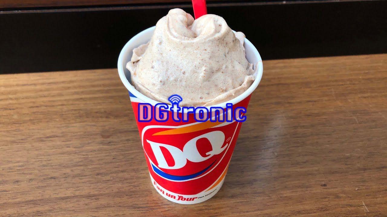 Dairy queen snickerdoodle cookie dough blizzard review