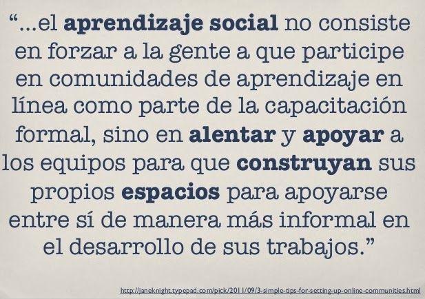 David Álvarez: el aprendizaje social