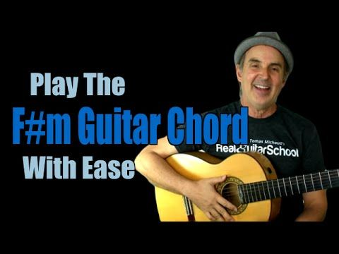 Fm Chord Learn The F Sharp Minor Guitar Chord Easily Love