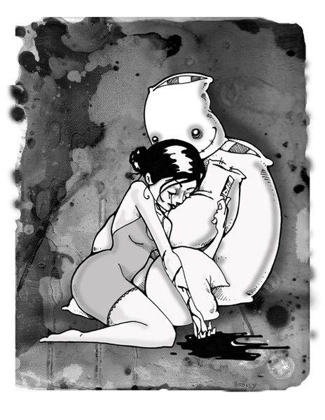 Pillowman by Chris Bodily