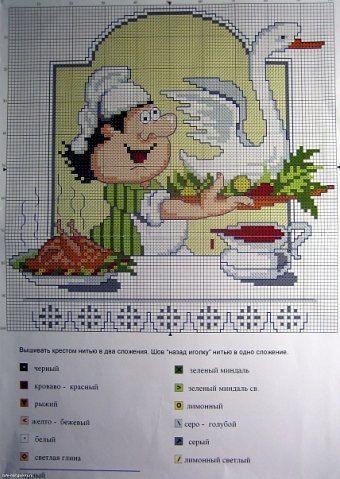 Cхеми вишивок. » Кулінарний форум Дрімфуд » Сторінка 6  02116d553b2b9
