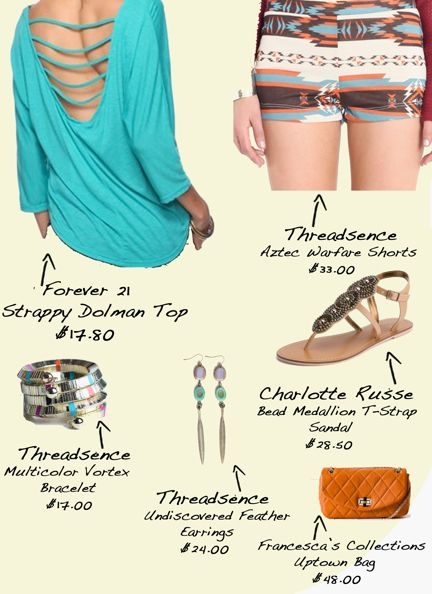 From my daily fashion blog! Perfect outfit for Coachella! #Threadsence #Coachella