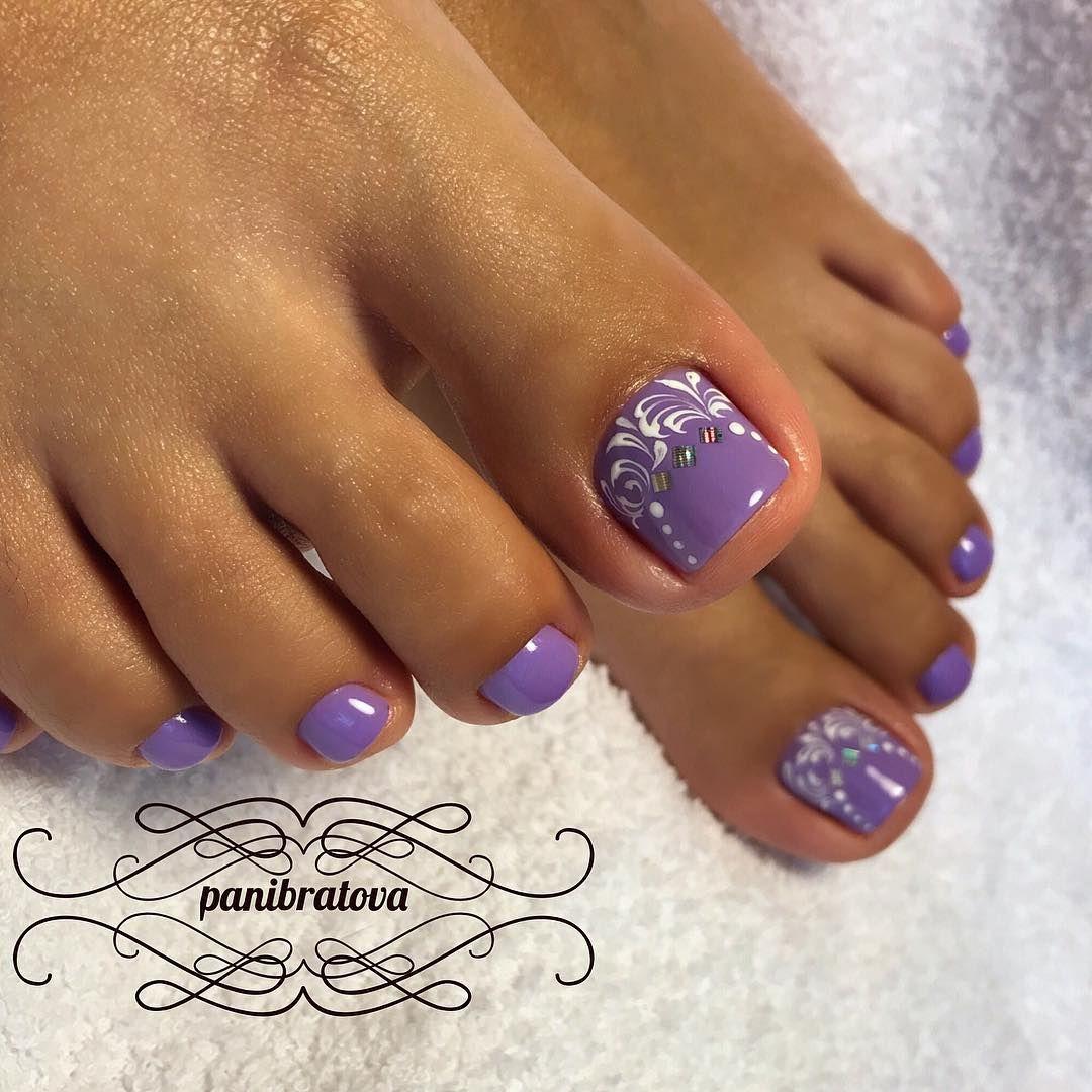 Nice toenails | Pedicure Ideas | Pinterest | Pedicures, Toe nail ...