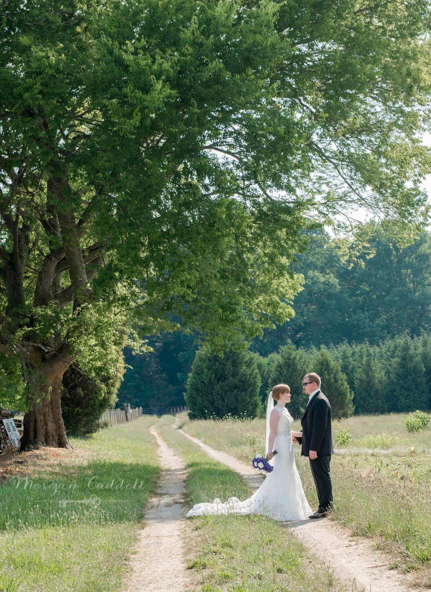 Pretty June day Wedding photos at the RandBryan House