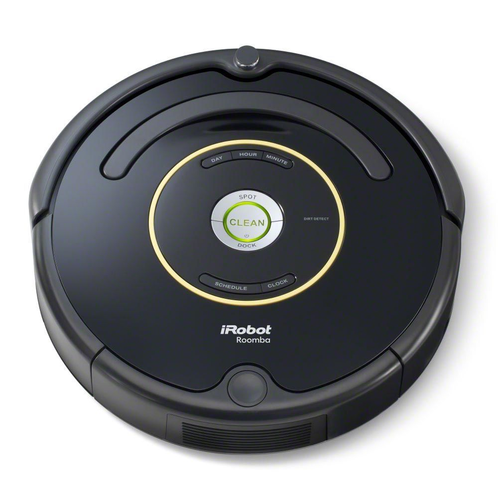 The Irobot Roomba 650 Vacuum Cleaning Robot Brings On Board Scheduling To The Standard Setting Roomba Roomba 650 Irobot Roomba Robot Vacuum Cleaner