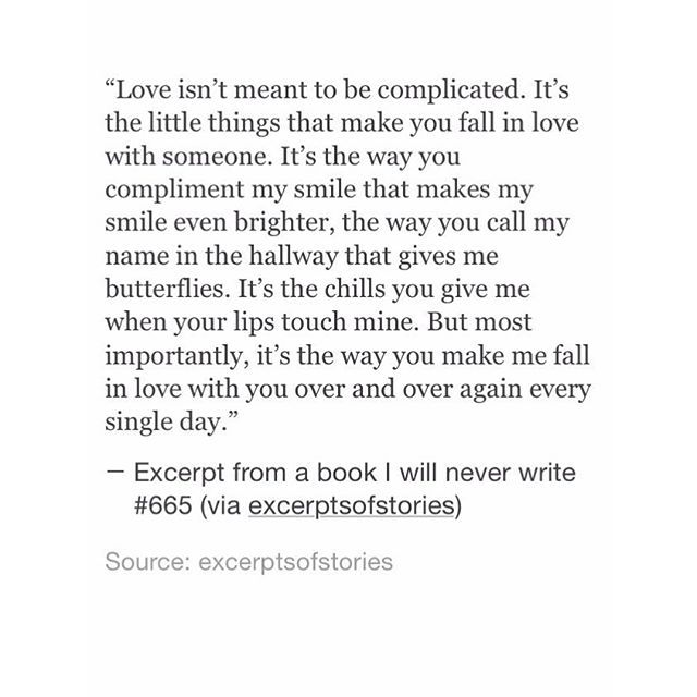 School Cute Love Quotes: Excerpts Of A Book I'll Never Write