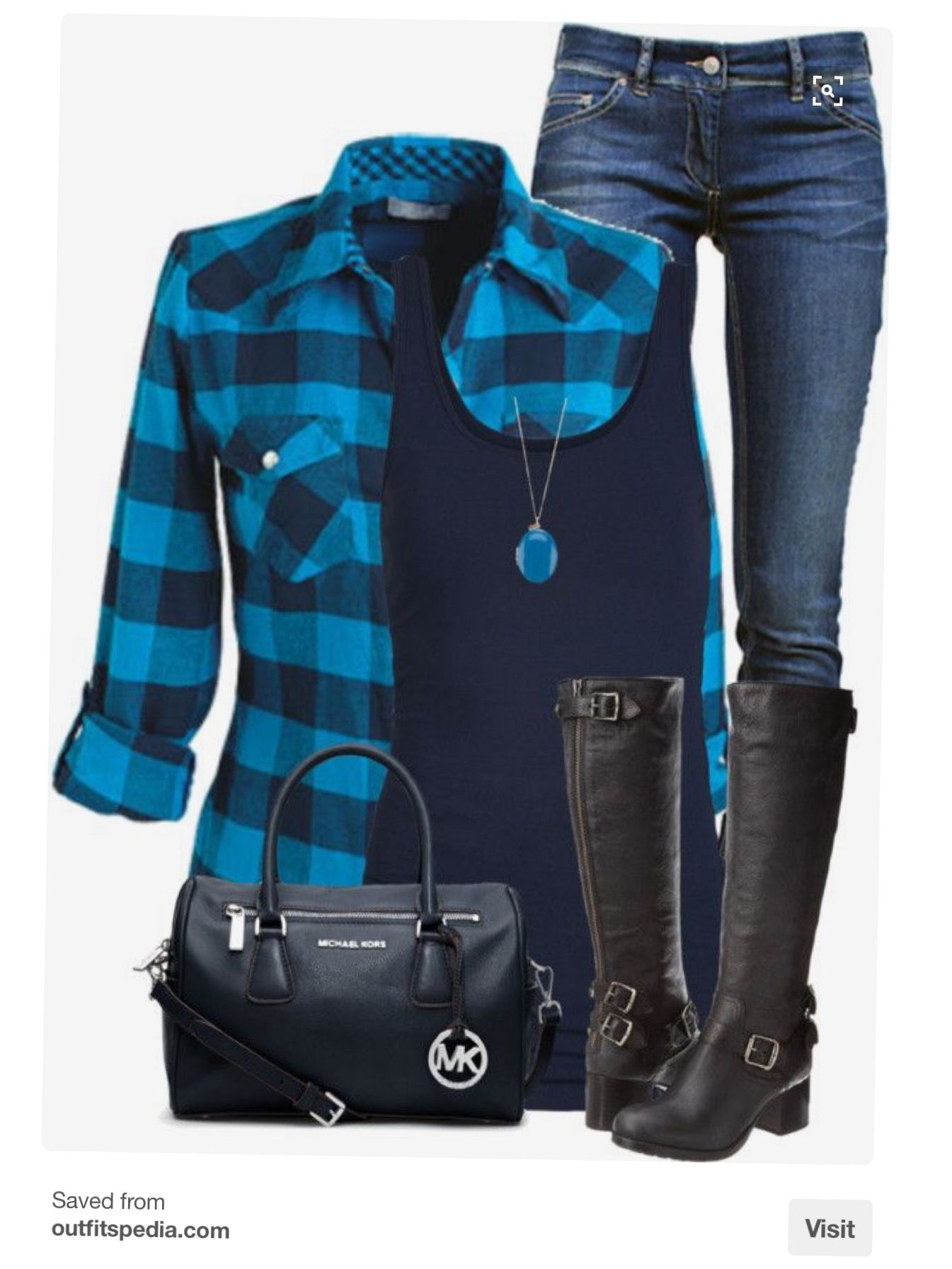 Flannel shirt outfit ideas  Like this outfit Want to try Stitch Fix Sign up here