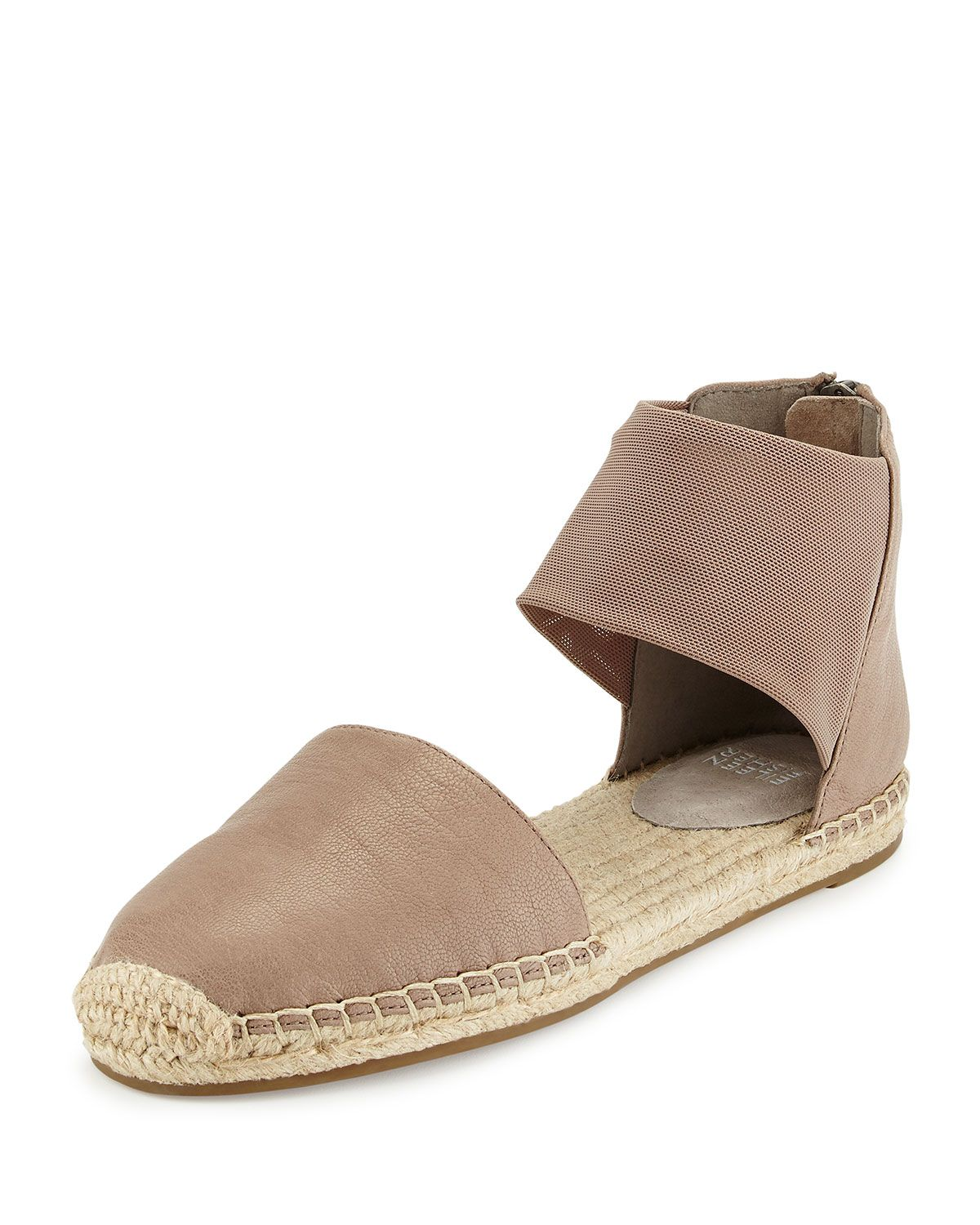 3c91f6fe1ec Coy Leather Espadrille Flat Pewter in 2019 | *Apparel & Accessories ...