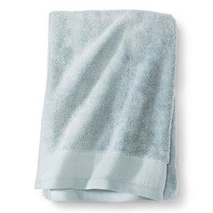 Egyptian Cotton Bath Towel Fieldcrest Newark Blue Kingston