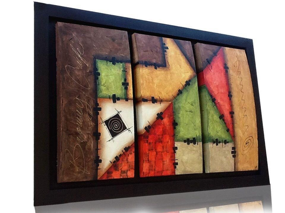 Cuadro minimalista puzzle 150x100cms cuadros modernos for Cuadros minimalistas