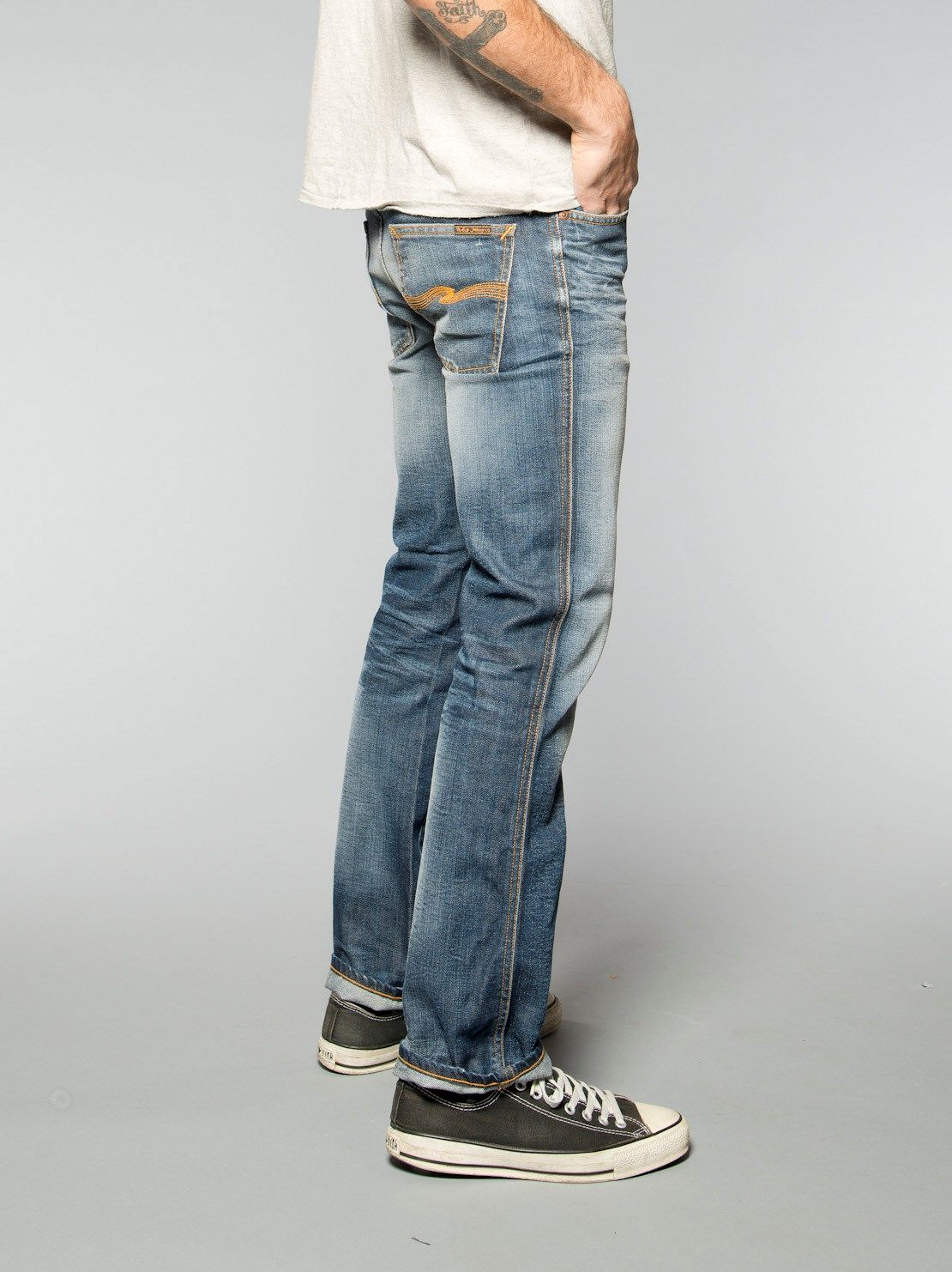 3547dc03e9a68 Slim Jim Organic Martin Replica - Nudie Jeans Co Online Shop   Just ...