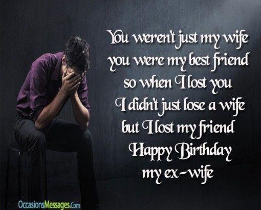 Happy birthday wishes for ex wife birthday pinterest happy