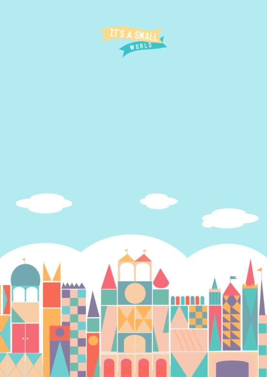 It's a small world Art Print (With images) Disney